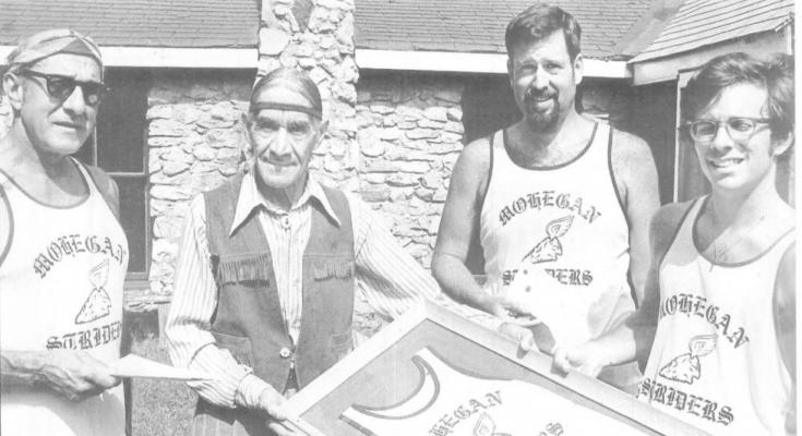 Mohegan Striders Founding members - 1974